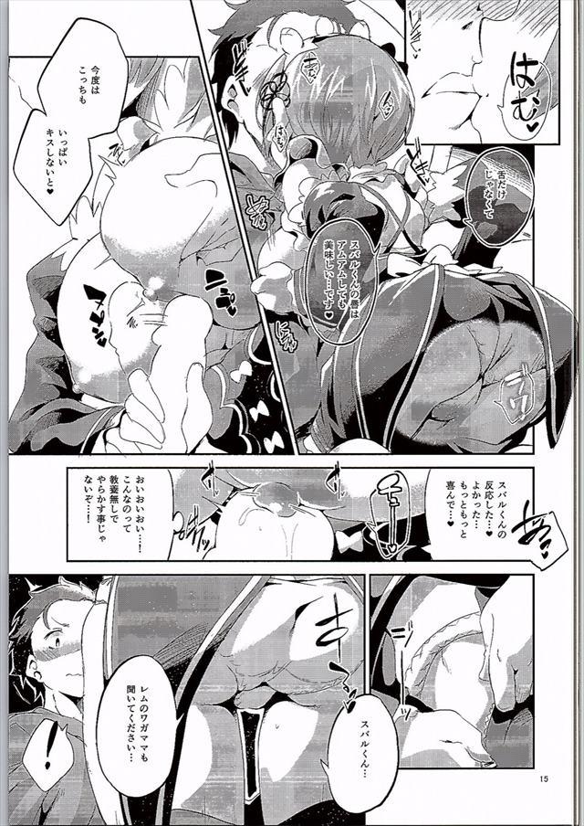 リゼロのエロ漫画14枚目