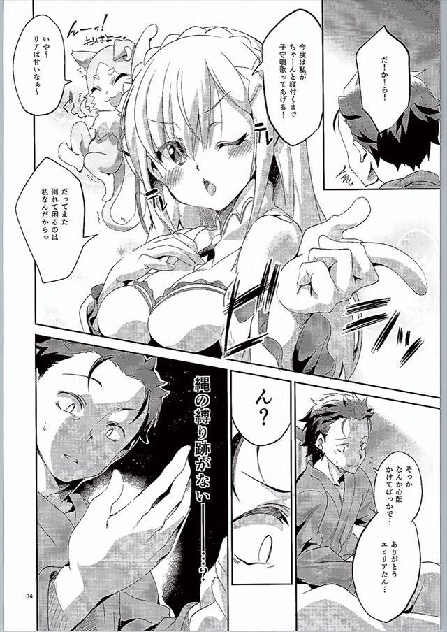 リゼロのエロ漫画33枚目