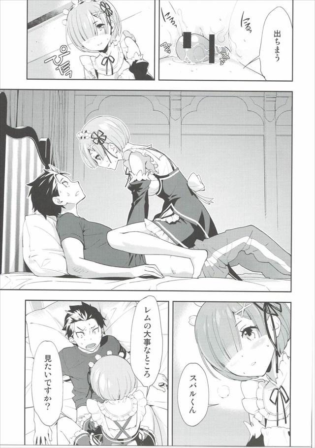 Re:ゼロから始める異世界生活のエロ漫画12枚目