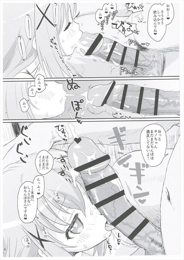ごちうさのエロ漫画7枚目