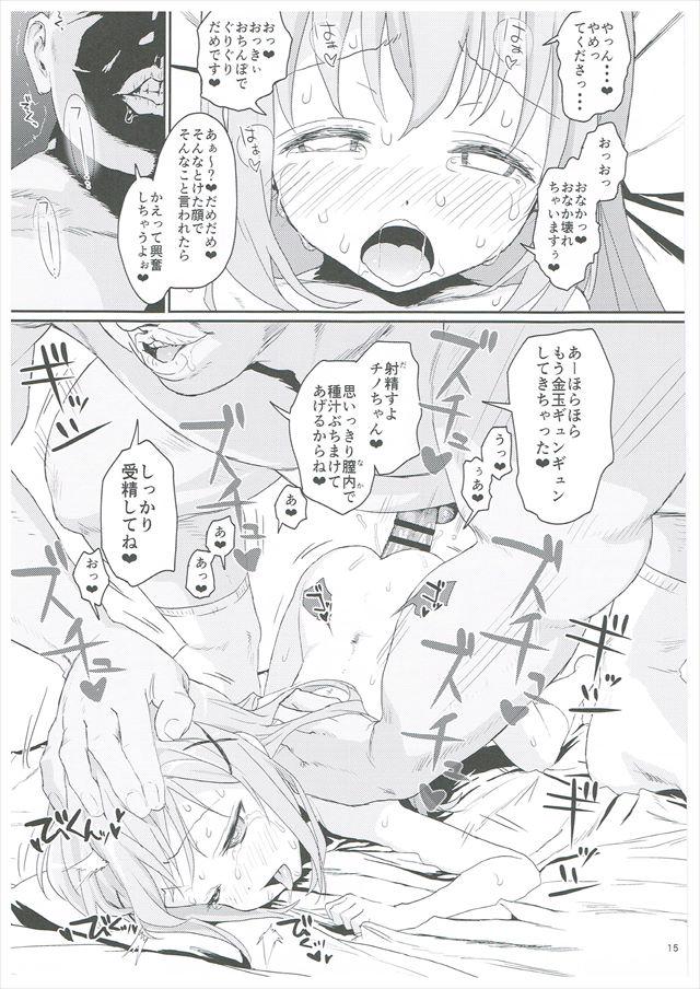 ごちうさのエロ漫画14枚目
