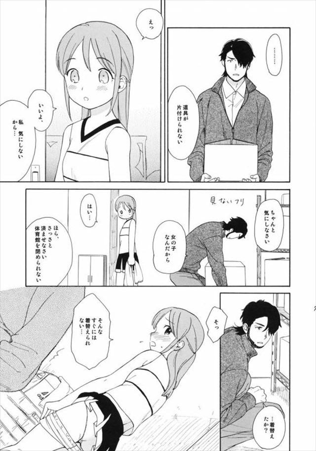 イナズマイレブンのエロ漫画6枚目
