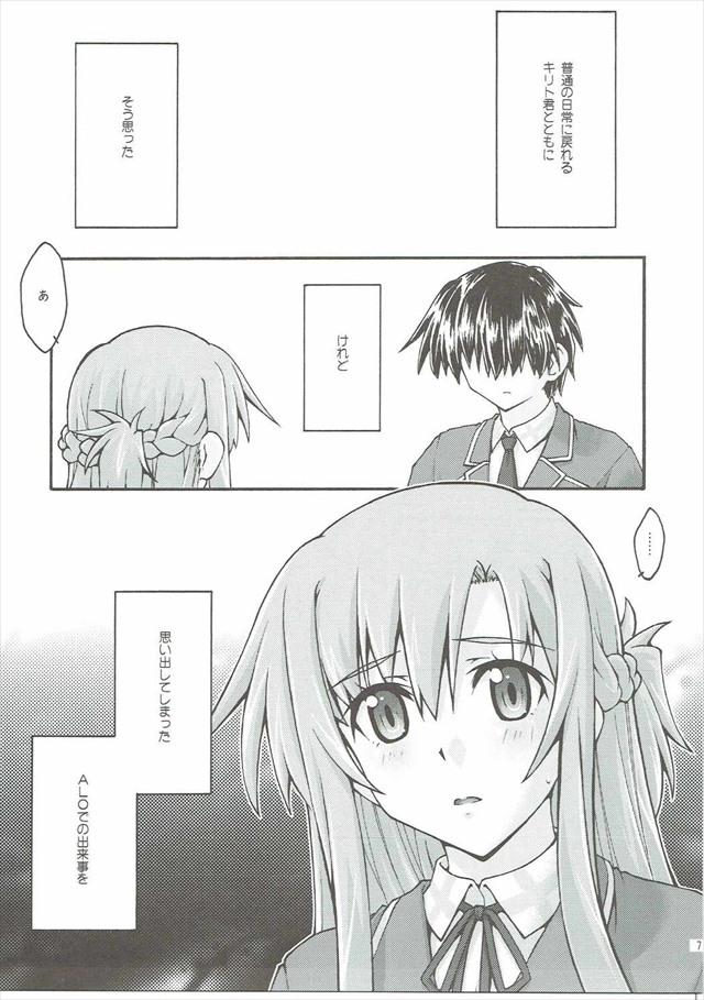 SAOのエロ漫画6枚目