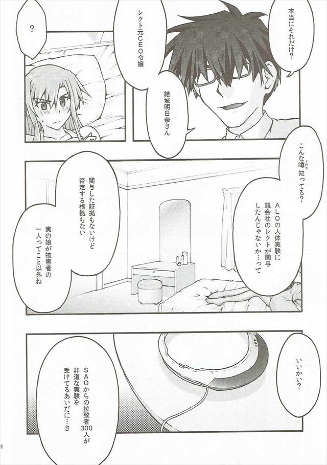 SAOのエロ漫画19枚目