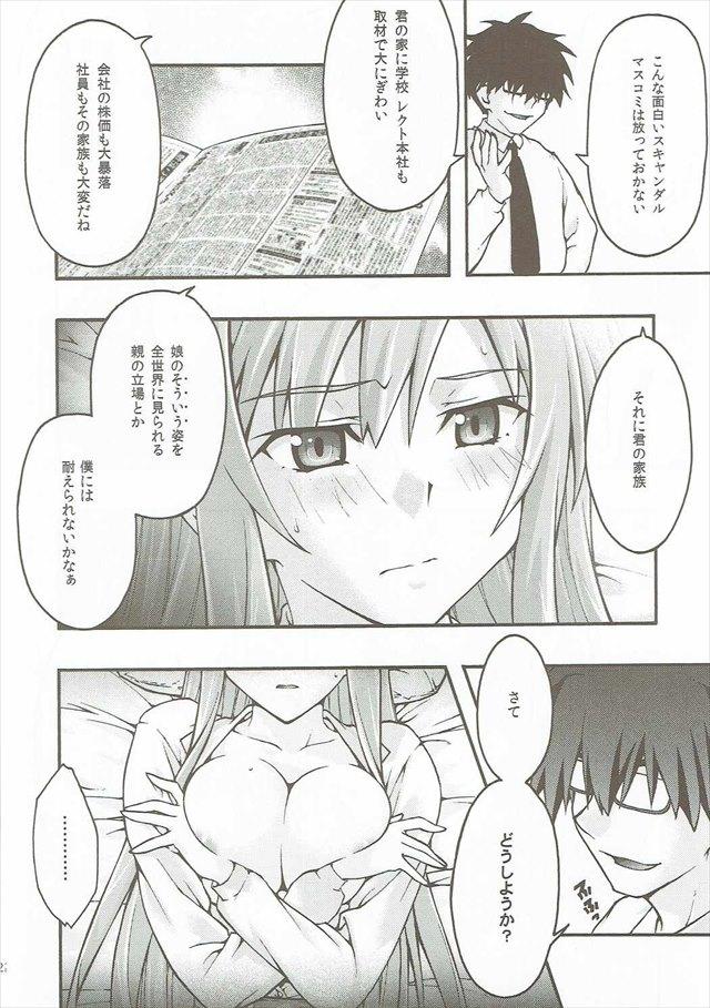 SAOのエロ漫画21枚目
