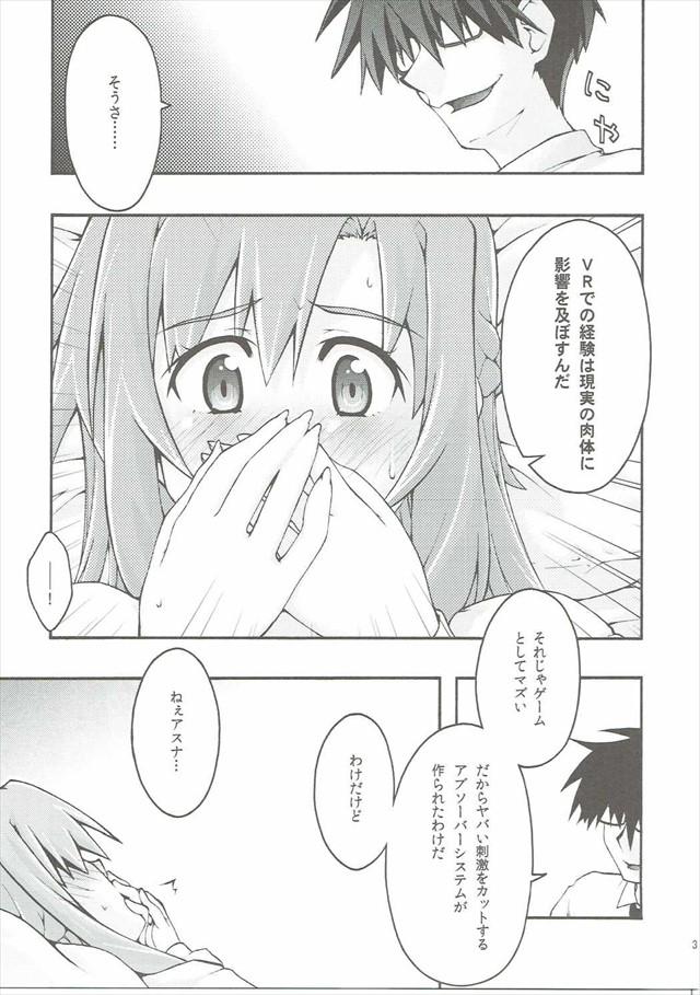 SAOのエロ漫画30枚目