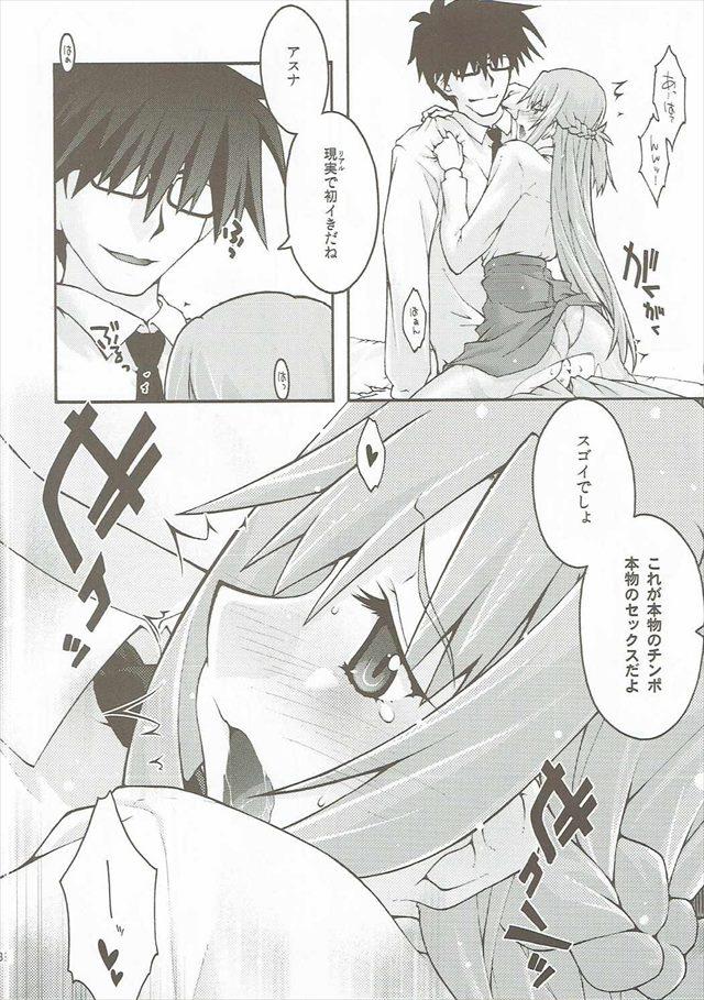 SAOのエロ漫画37枚目