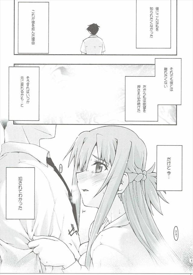 SAOのエロ漫画40枚目