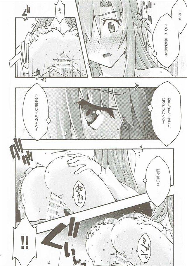 SAOのエロ漫画57枚目