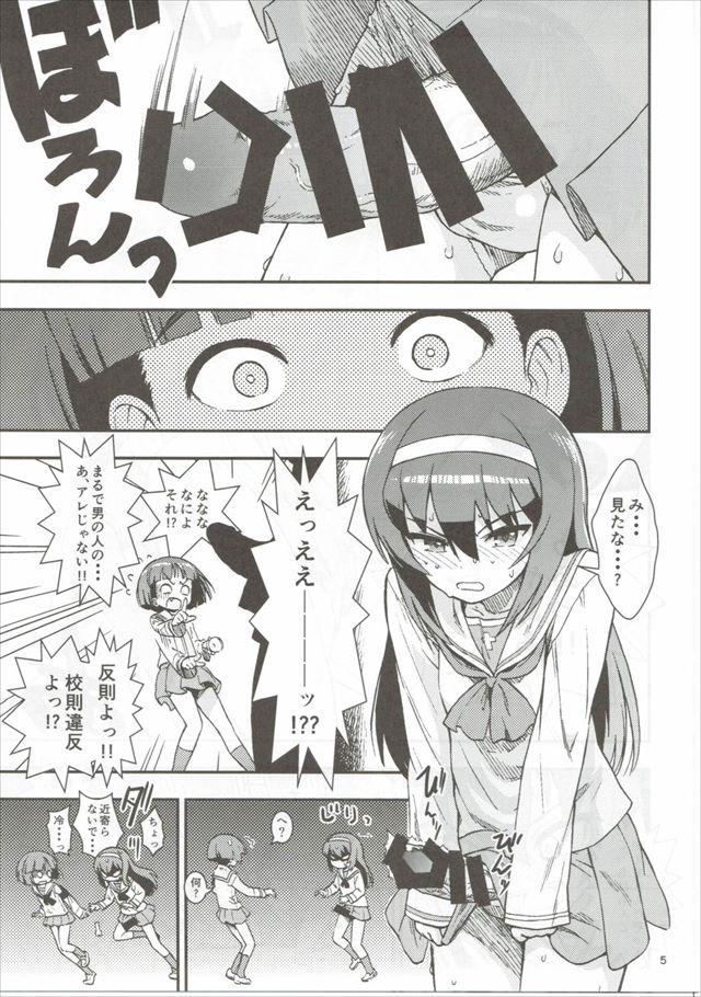 ガルパンのエロ漫画6枚目