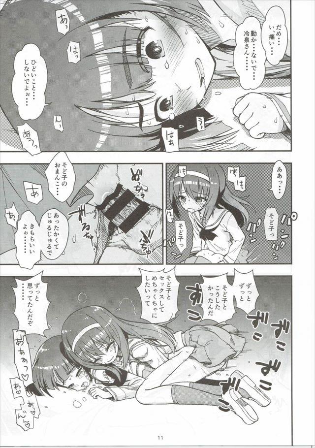 ガルパンのエロ漫画12枚目