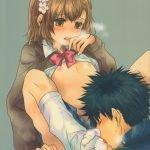 【エロ漫画 とある科学の超電磁砲】御坂さんと上条さんは付き合っていますが、まだキスまでしかシてません!そして今回は…どこまでイくのでしょうか!