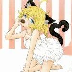 【エロ漫画 幼女戦記】ウィスキーボンボン的なチョコでターニャが泥酔!変なテンションに突入!アナルプラグタイプの猫しっぽをヴィーシャに着けてもらうw